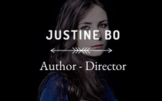 Justine Bo, Author and Director